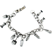 1950's Charm Bracelet with Original Charms