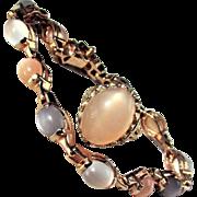 Natural Moonstone Set with Bracelet & Ring