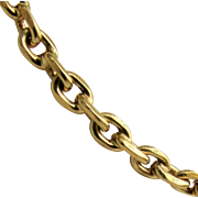 17.8 Grams, 18K YG Chain Necklace 28 Inches