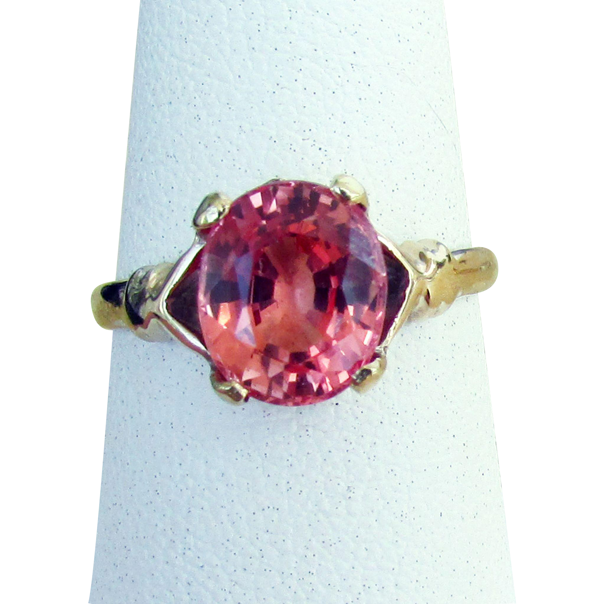 sapphire gems heated color lankan un gem sri unheated oval padparadscha precious pad feature srilankan cushion of