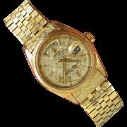 18K YG,  1965 President  DAY-DATE ROLEX  Limited Model 1806