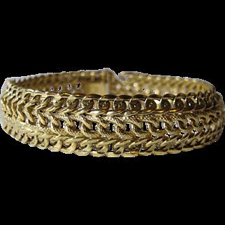 11.9 Grams Italian 14K YG Bracelet Size 8