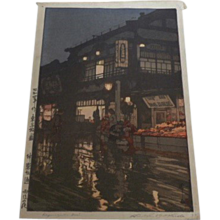 Hiroshi Yoshida,1929 original Japanese