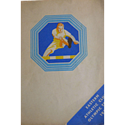 Eastern Athletic clubs Olympic Tours 1932