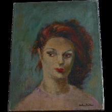Helen Ratkai oil Portrait  listed artist
