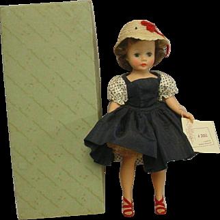 Madame Alexander 1950's Brunette Cissette Doll MIB  BEAUTY