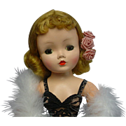 "Madame Alexander 1950's Golden Blonde CISSY Doll 20"" GORGEOUS"