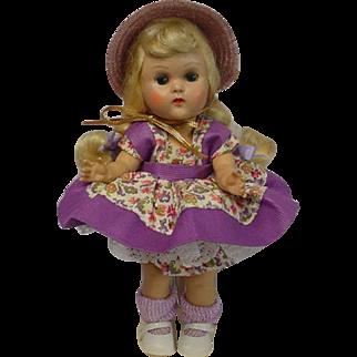 VOGUE Ginny Blonde Braid MLW Tiny Miss 1955 DOLL