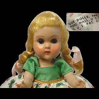Vogue Ginny Blonde Braid MLW Doll MINTY