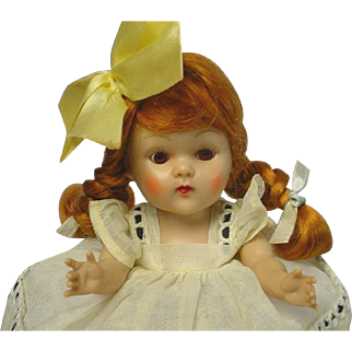 Vogue Ginny Strung 1952 Auburn Braid Doll Linda BEAUTY