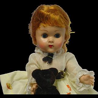 Vogue Ginny 1957 Doll w/Box & Bear