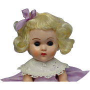 Vogue BKW Ginny Blonde Doll Tagged Purple Outfit