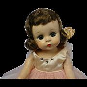 Madame Alexander-kins 1953 Brunette Doll w/ Ballerina Outfit
