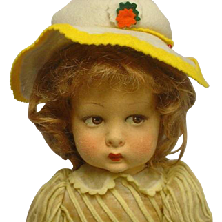 """Lenci Cloth Child Doll Original Outfit To CUTE 16"""""""