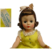 MADAME ALEXANDER 1950's Cissette Doll STUNNING