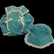 Madame Alexander Baby Doll Romper & Bonnet