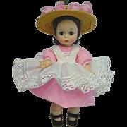 Madame Alexander-kins BKW Brunette Up-Do Doll Kins SWEETHEART