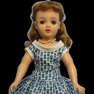 "Vintage 1950's Miss Revlon 18"" Swivel Waist Doll DELIGHTFUL"