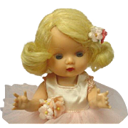Nancy Ann Storybook Golden Blonde Muffie BALLERINA