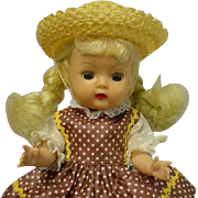 Nancy Ann Storybook Muffie Bl Braid #607