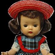 NANCY ANN Storybook MUFFIE Brunette MLW Doll