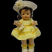 Nancy Ann Storybook Brunette Muffie Original Dress