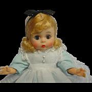 Madame Alexander-kins BKS Blonde Doll Alice Cutie