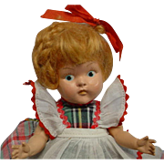Vogue Ginny Strung 1949 Auburn Braid Doll Daughter Outfit