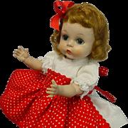 Madame Alexander-kins SLW Strawberry Blonde 1955 Doll