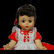 Madame Alexander-kins BKS Brunette Wendy Doll SWEET