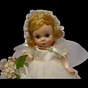 Madame Alexander-kins 1953 Blonde Bride Doll MINTY