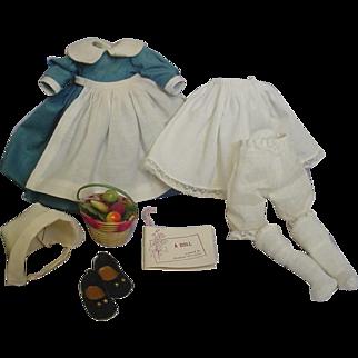 Madame Alexander Vintage 1965 Priscilla Outfit w/box Complete