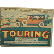 Vintage 'TOURING' by Parker Brother's Salem Mass. 1926