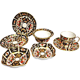 Royal Crown Derby - Polychrome - Misc Lot of Porcelain - All Marked