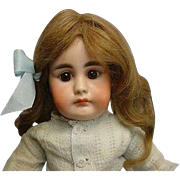"""Antique German SIMON & HALBIG 949 Closed Mouth Doll 16"""""""