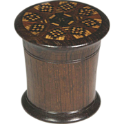 Desirable Circa 1850 Tunbridge Ware Tunbridgeware Nutmeg Grater