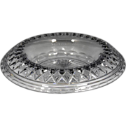 Fabulous Circa 1920 Pairpoint Cut Glass Center Bowl With Fold Over Rim