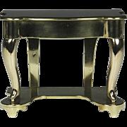 Wonderful 19th Century English Brass Miniature Server