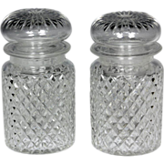 Wonderful Pair of 19th Century Hand Blown and Cut Pickle Jars
