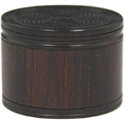 Superb Late Georgian Rosewood Snuff Box with Engine Turned Decoration