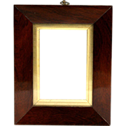Fine Circa 1820 English Mahogany Picture Frame