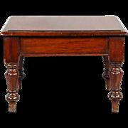 Fabulous Rare Circa 1840 English Mahogany Journeyman's or Salesman's Sample Table