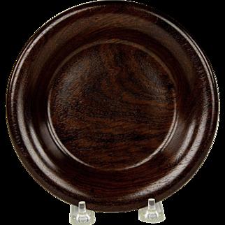 Superb Circa 1830 English Rosewood Bottle Coaster