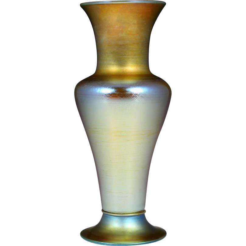 Exquisite Early 20th Century Signed Tiffany Favrile Vase