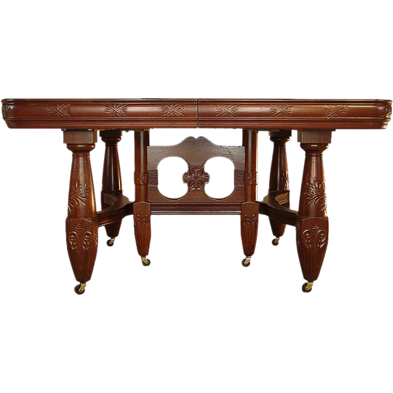 Victorian mahogany banquet table **REDUCED PRICE **