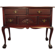 Mahogany Chippendale Ball and Claw Lowboy