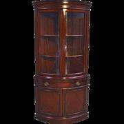 16928 Mahogany Corner China Cabinet - Duncan Phyfe