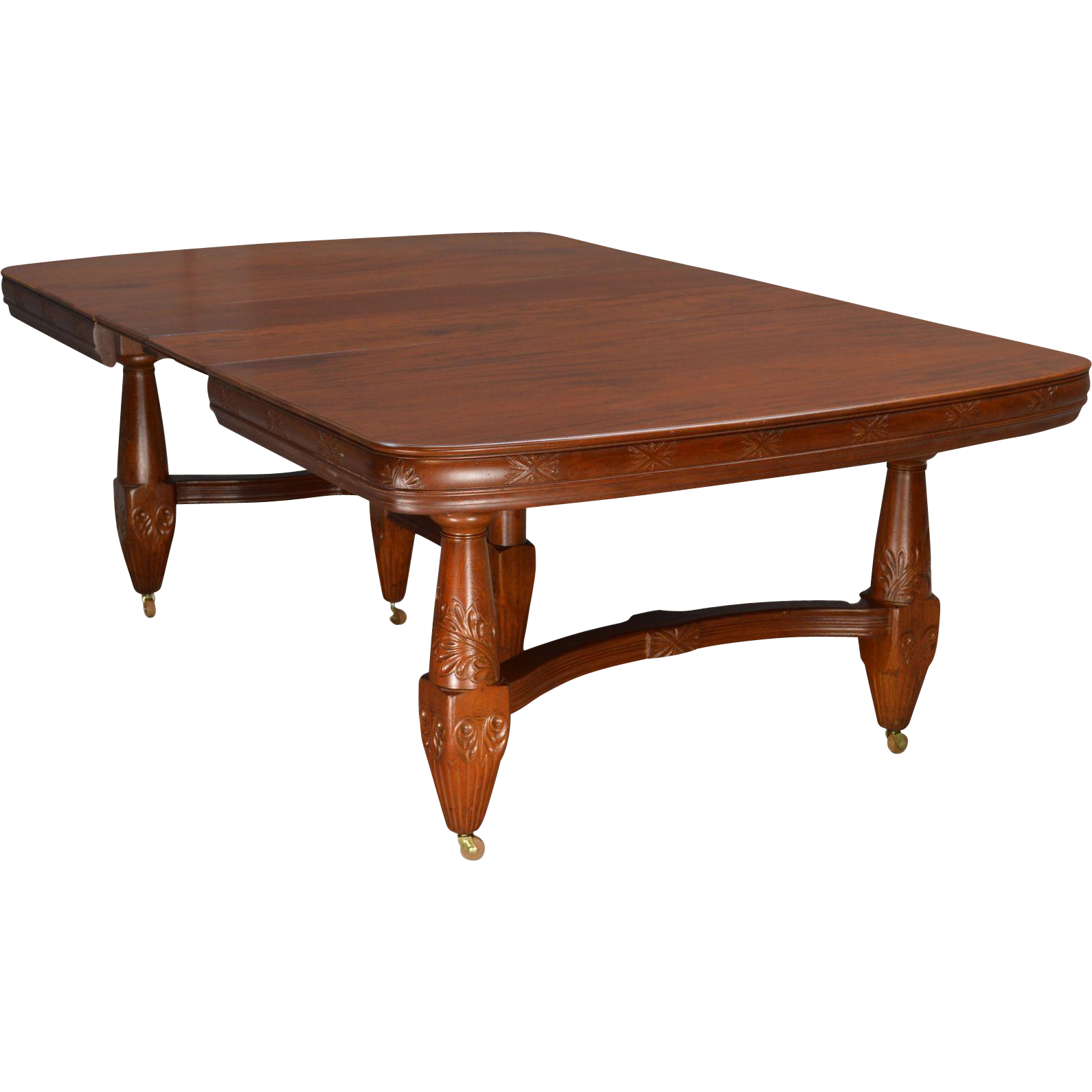 Victorian large Mahogany Dining Table from  : 169401L from www.rubylane.com size 1590 x 1590 png 821kB