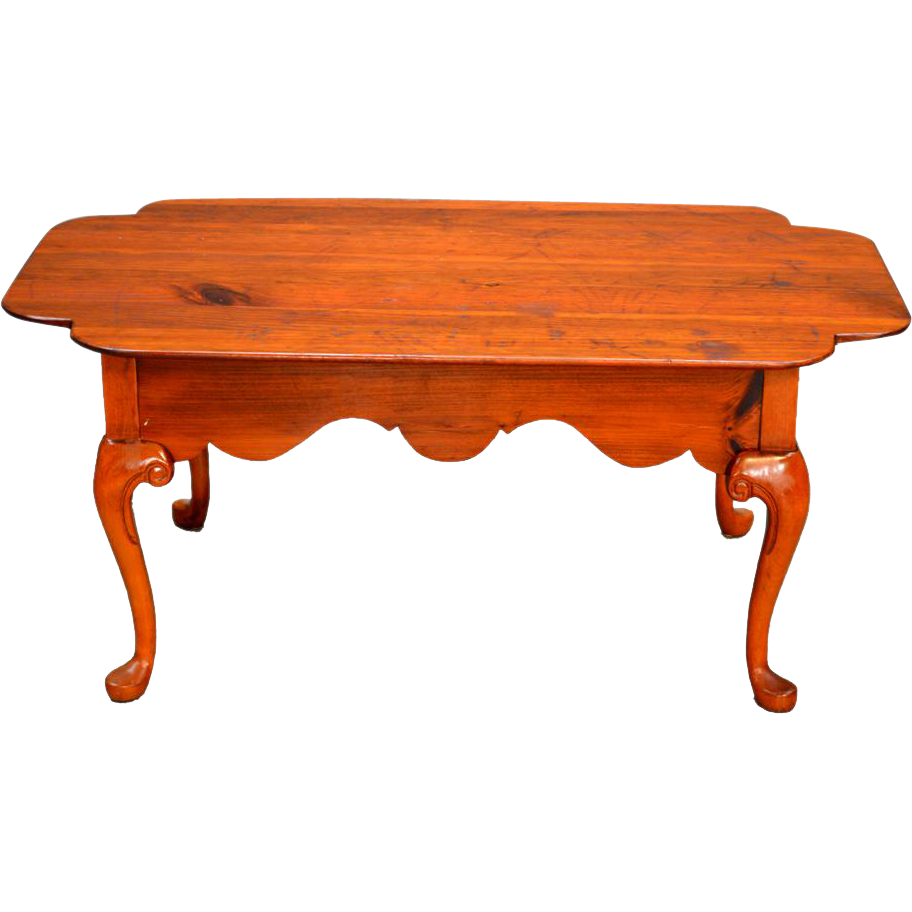 Country Chippendale Coffee Table Unique From Maineantiquefurniture On Ruby Lane