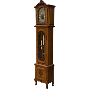 Oak Carved Grandfather Clock – French